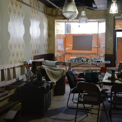 Front dining area.