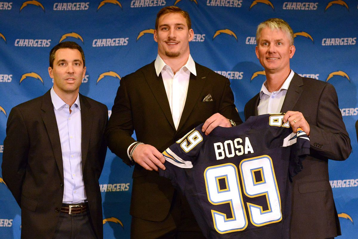 NFL: San Diego Chargers-Joey Bosa Press Conference