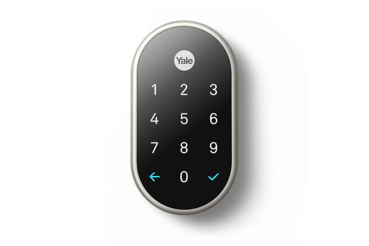 The Nest X Yale Lock Is Coming Out After Two Years The Verge