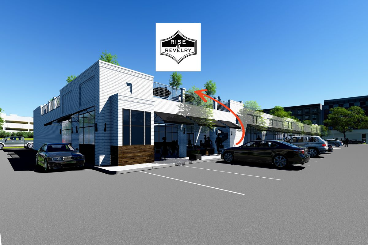 Restaurant and bar Rise & Revelry will open on the rooftop of Savi Provisions-Pharr Road
