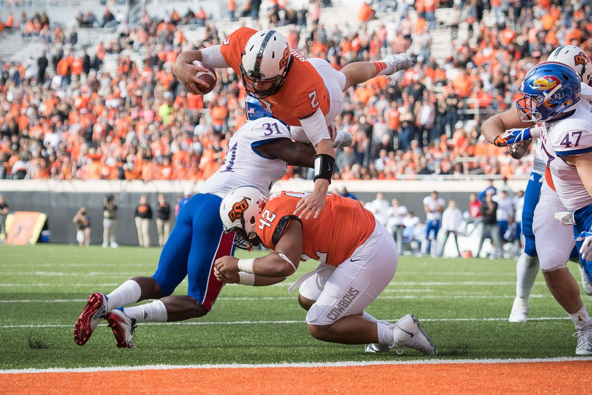 NCAA Football: Kansas at Oklahoma State