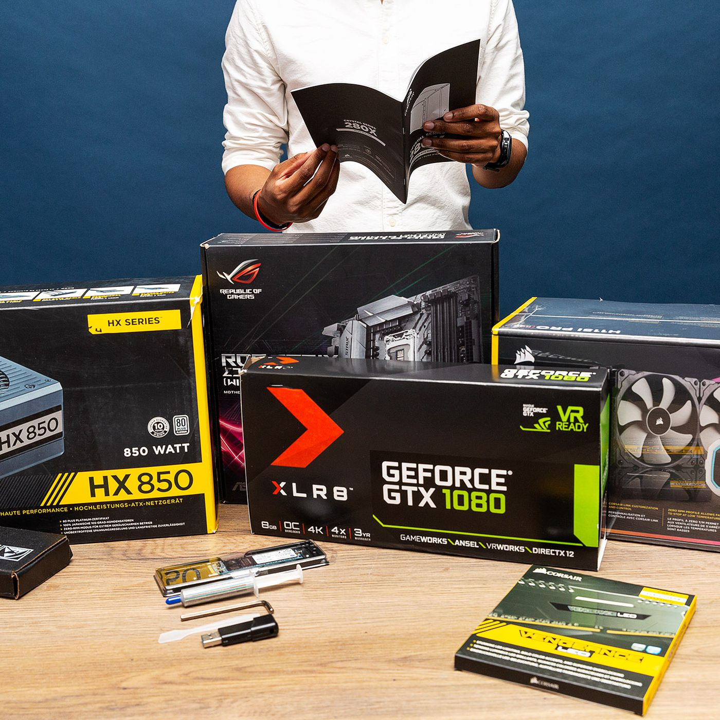 How To Build A Custom Pc For Gaming Editing Or Coding The Verge