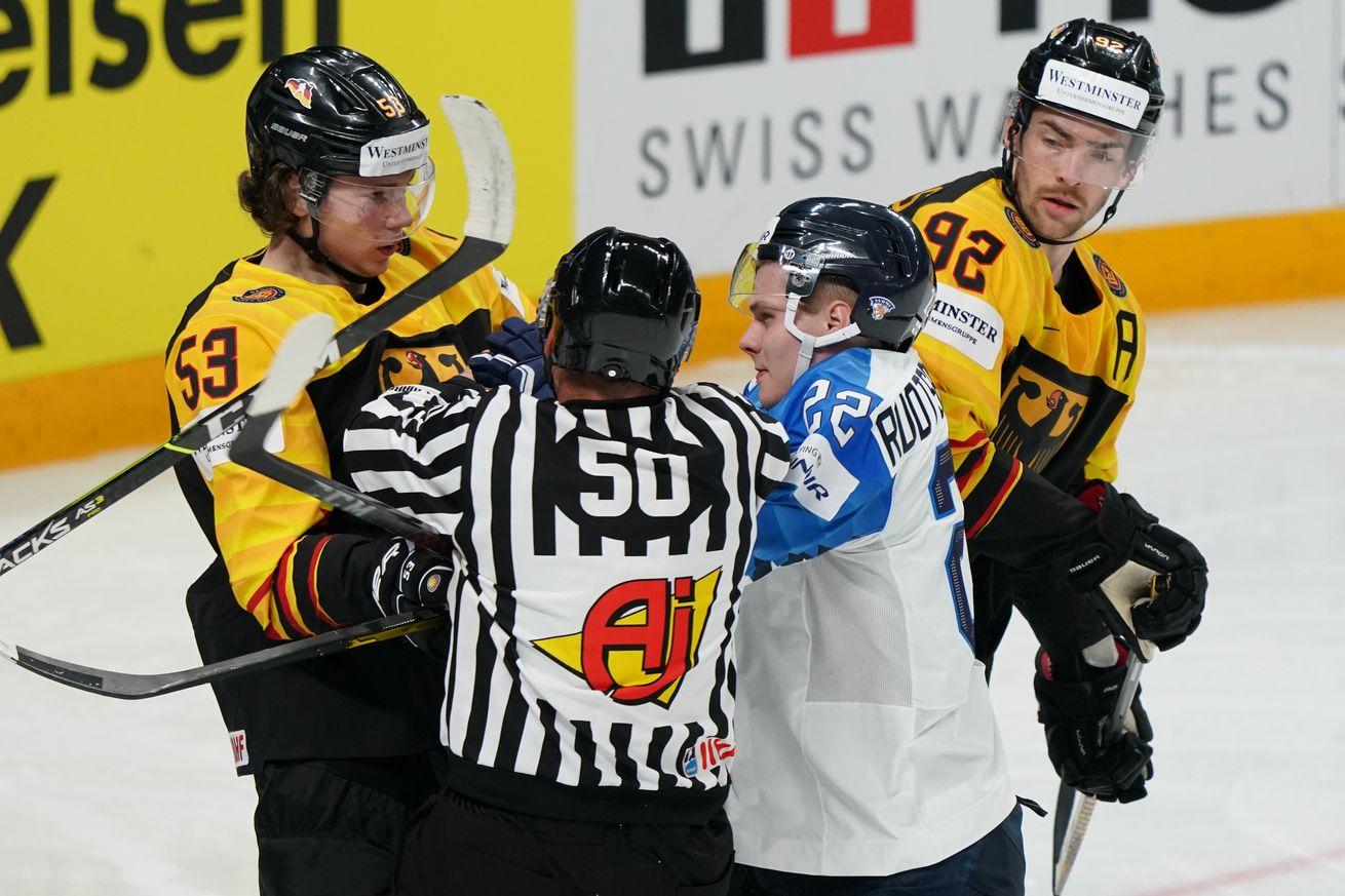Ice Hockey World Championship: Germany - Finland