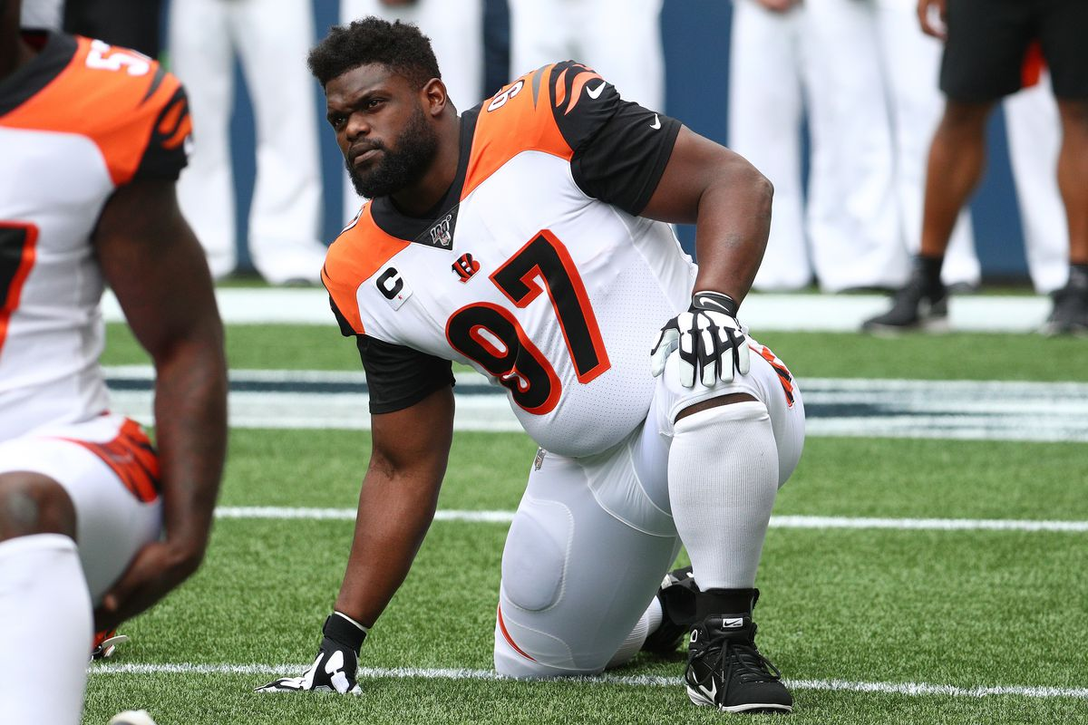 Geno Atkins appears on Bengals' latest injury report with a knee injury