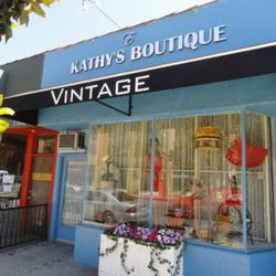 """Next, head a few doors down to <a href=""""https://www.facebook.com/KathysEBoutique/"""">Kathy's E. Boutique</a> (11054 Magnolia Blvd), where you'll find a curated collection of women's and men's vintage apparel and accessories. There you'll find a mix of summe"""
