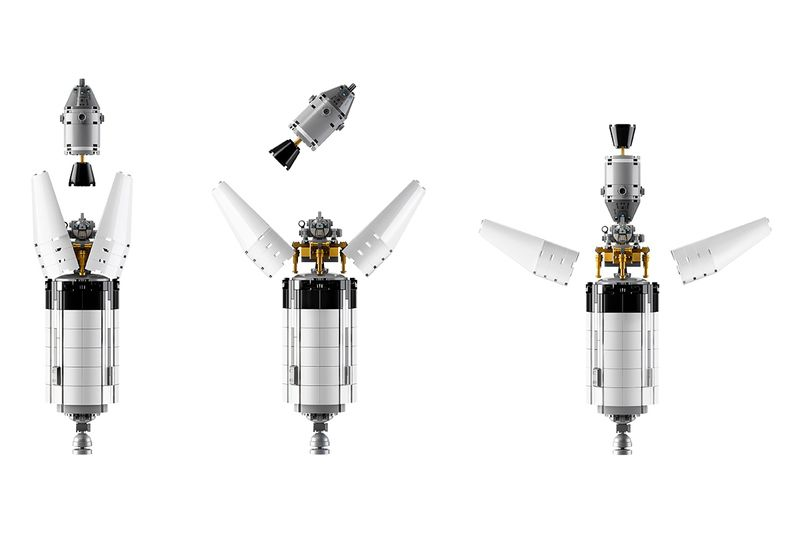Lego Is Releasing Its Coolest Spaceship To Date An Apollo Saturn V