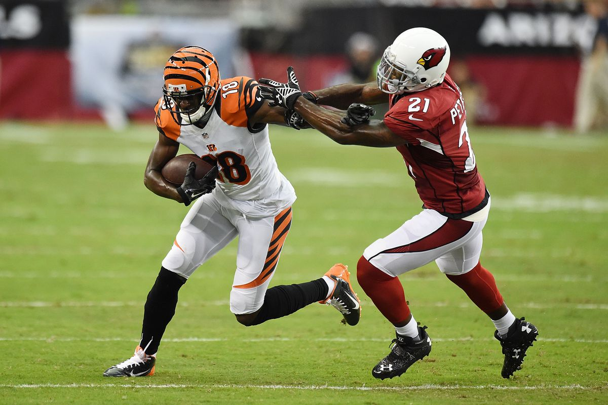 Bengals WR A J Green dishes on 5 toughest CBs he s faced Cincy