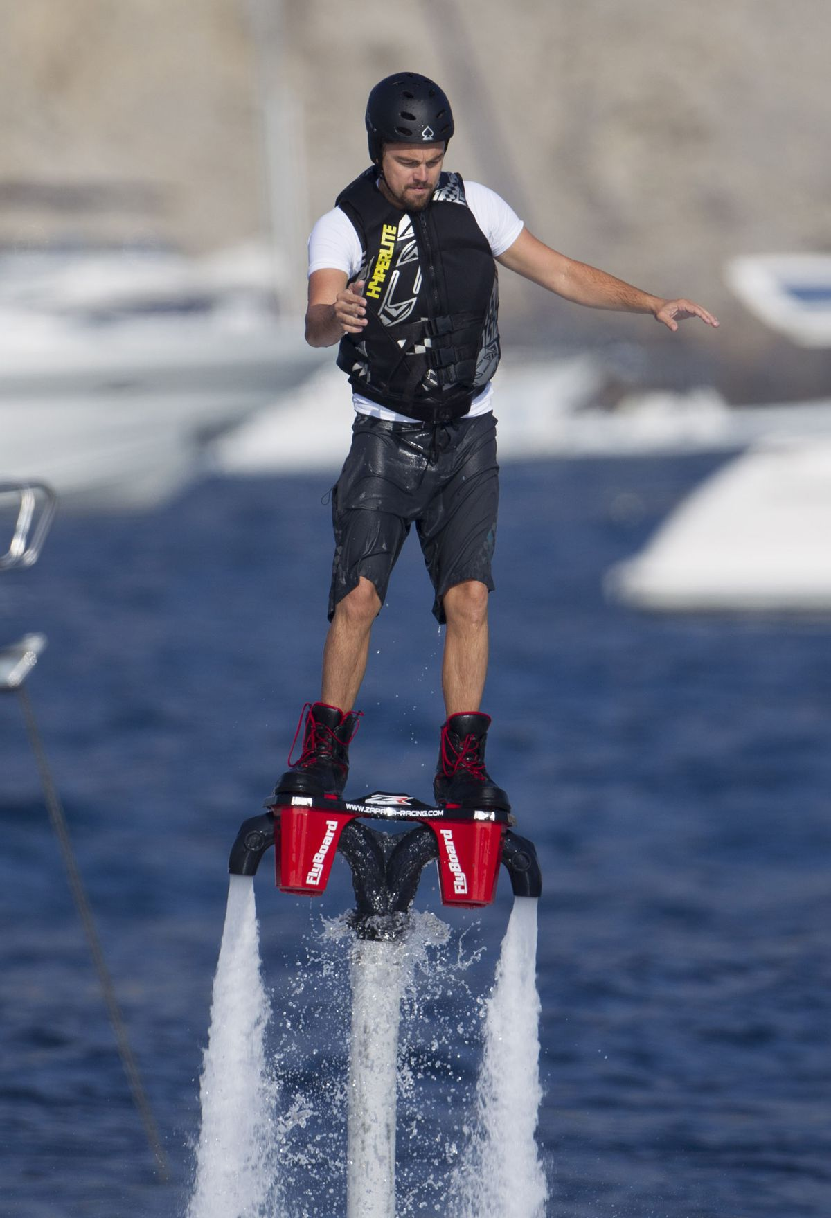 Leonardo DiCaprio doing in Ibiza. Photo: FameFlynet.com
