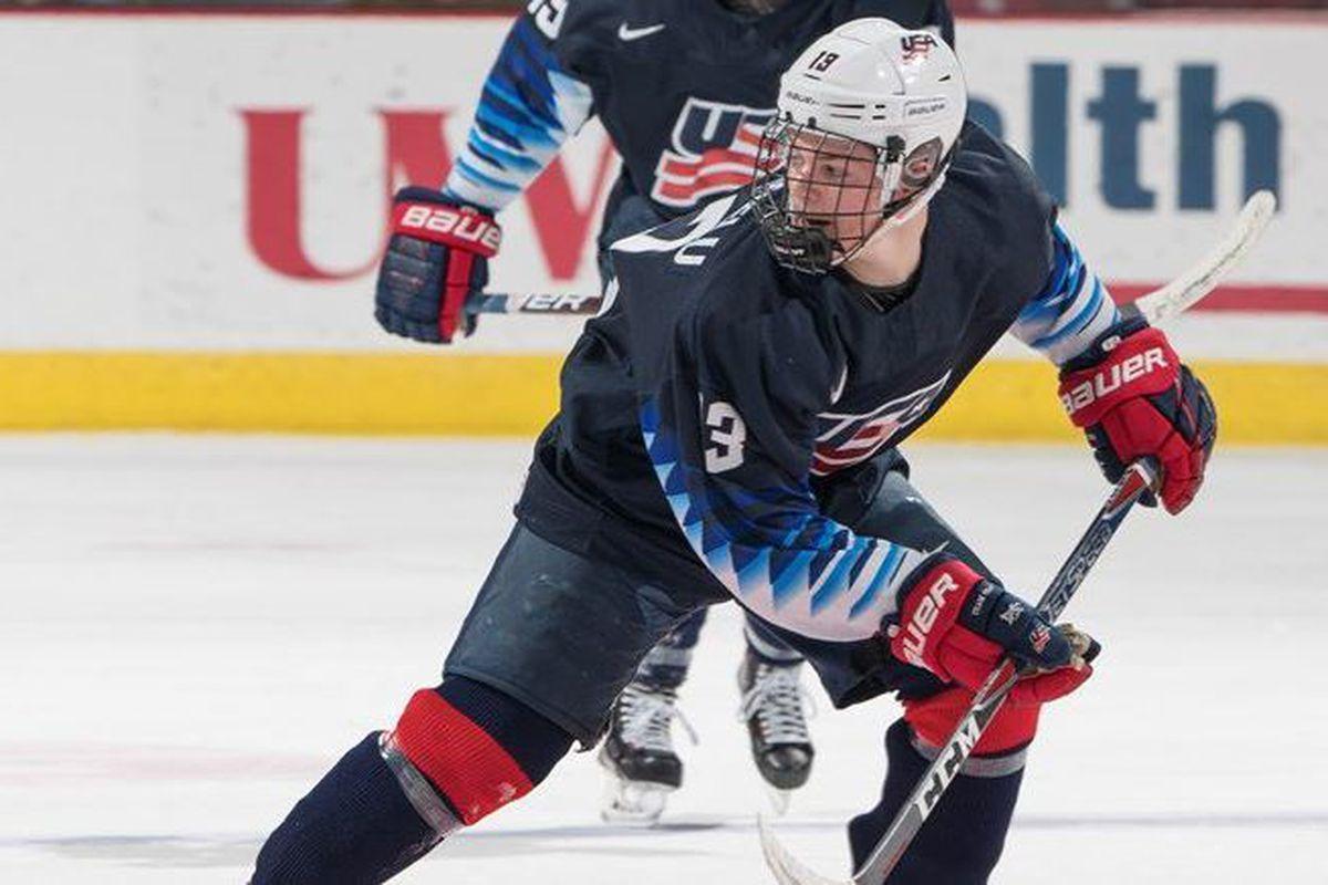 2019 NHL Draft eligible Cole Caufield
