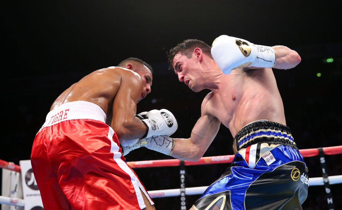 Boxing at Manchester Arena