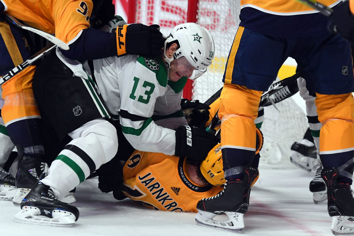 NHL: Dallas Stars at Nashville Predators