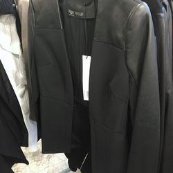 Stretch peplum jacket, $225 (was $1,350)