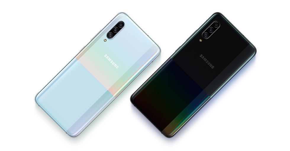 Samsung's Galaxy A90 5G is a mid-range phone with next-gen speeds