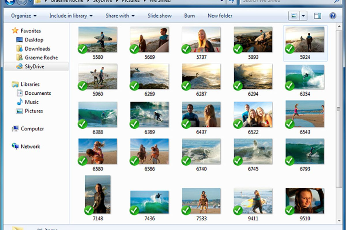 SkyDrive for Windows preview