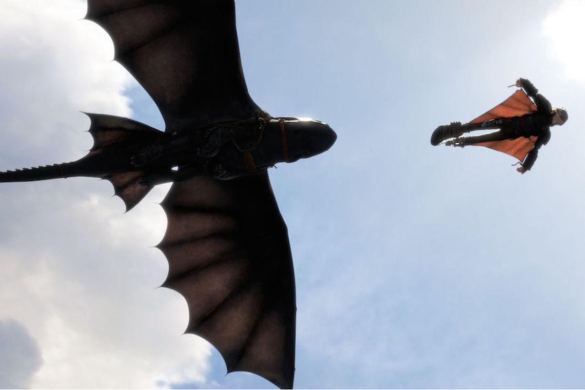 The flying sequences in How to Train Your Dragon 2 were among the most exciting of the summer.