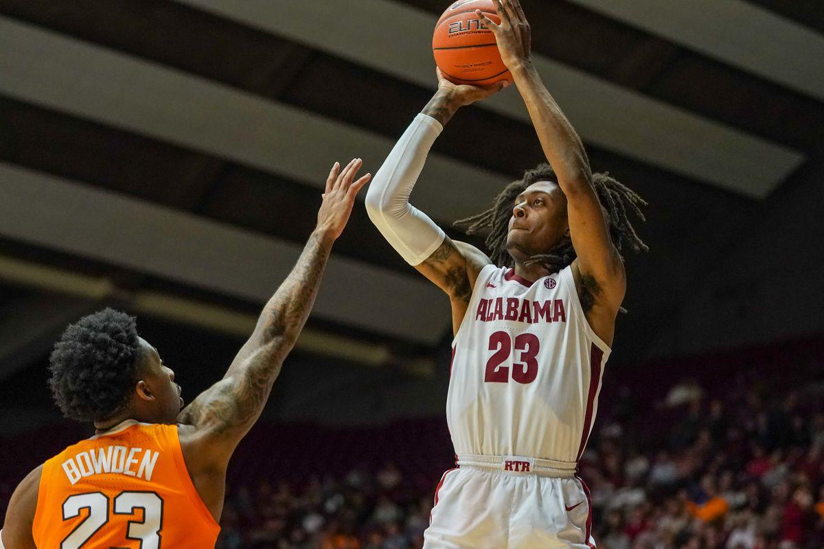 NCAA Basketball: Tennessee at Alabama
