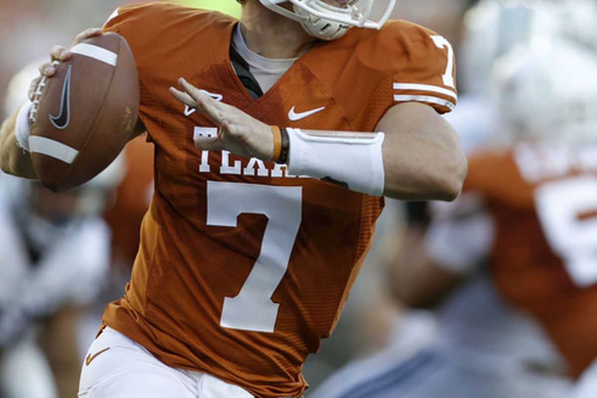 Reports Garrett Gilbert Transferring To Smu Burnt Orange Nation