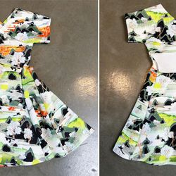 Opening Ceremony floral dress, $415