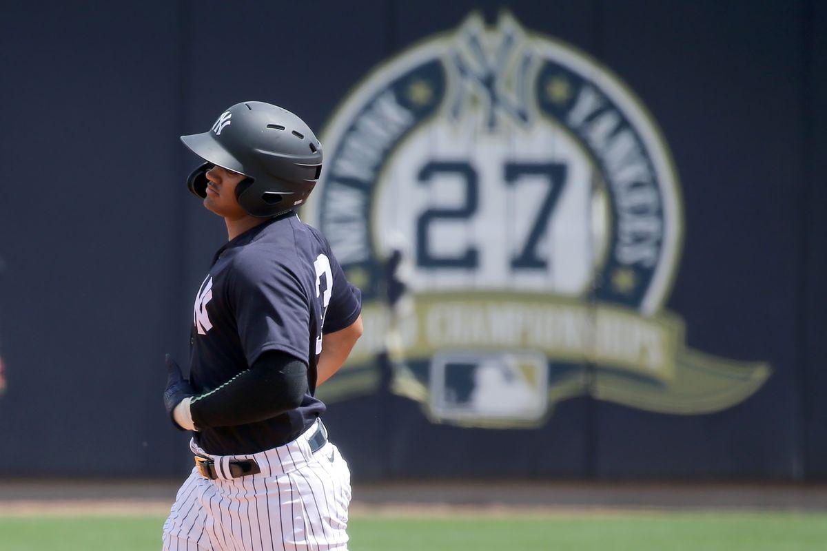 MLB: MAR 11 Spring Training - Yankees Minor League Workout