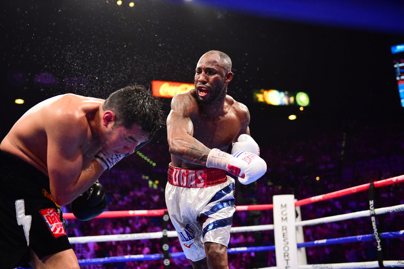 <label itemprop='headline'><a href='https://www.mvpboxing.com/news/boxing/1627697405/Ugas-F-Maidana-Ortiz-Guerrero-complete-Pacquiao?ref=headlines' itemprop='url' class='headline_anchor news_link'>Ugas-F. Maidana, Ortiz-Guerrero complete Pacquiao-Spence PPV</a></label><br />Set Number: X162752 TK1  The main card will also see Mark Magsayo face Julio Ceja Rumors have tied