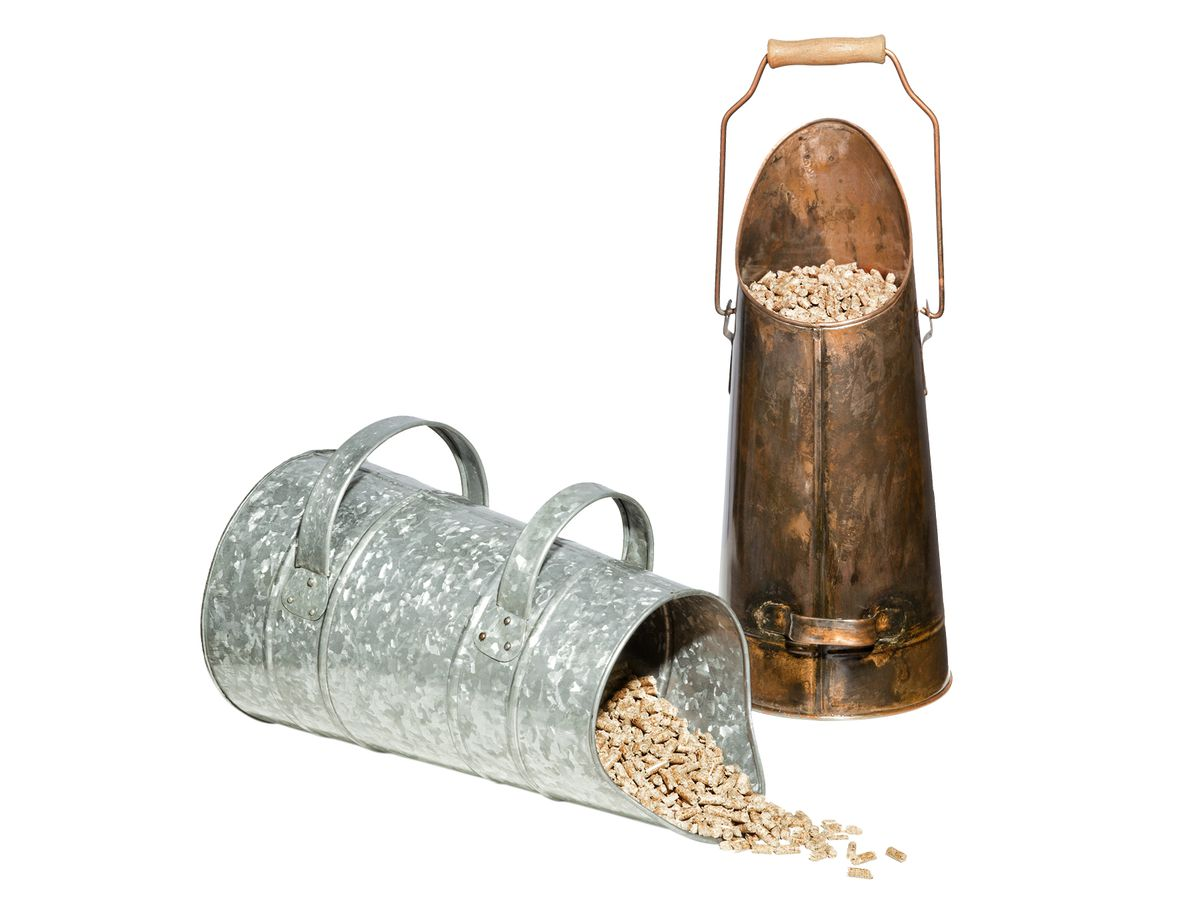 Wood Pellet Scuttle