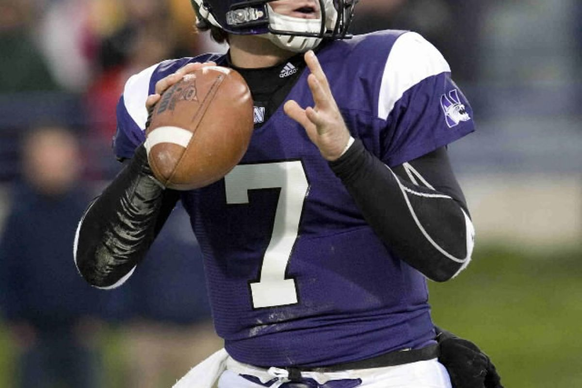 Northwestern QB Dan Persa looks to get the Wildcats back to a New Year's Day Bowl.