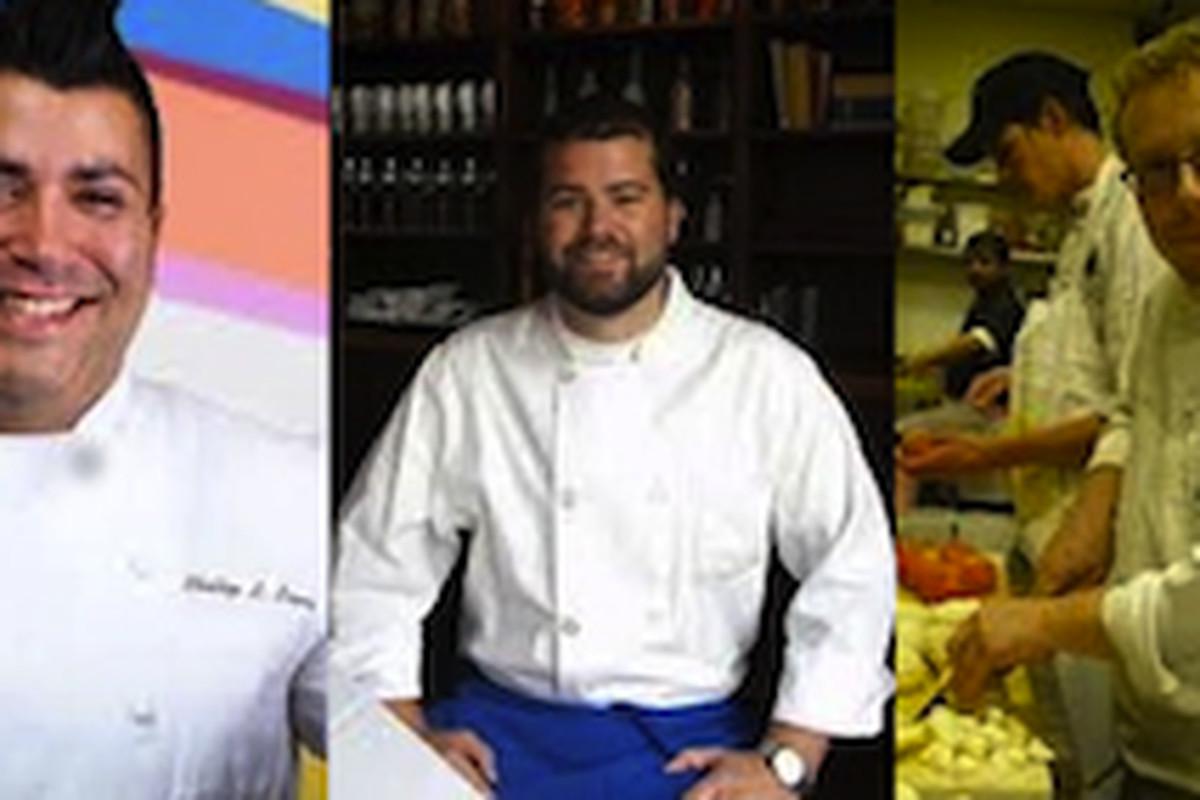 Chef of the Year Nominees: Susan Spicer, Phillip Lopez, Just Devillier, Michael Stoltzfus, Michael Doyle