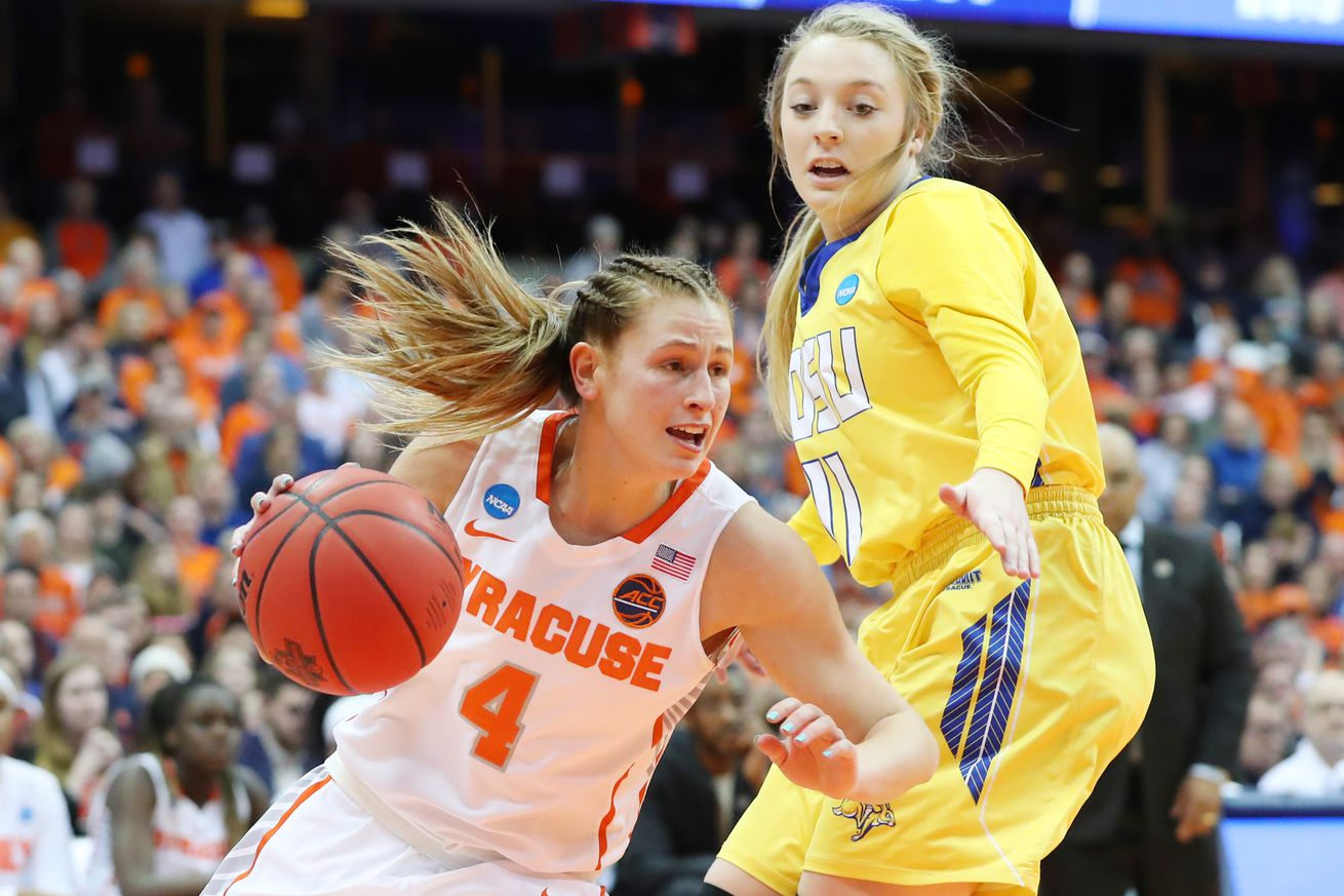 NCAA Women's Basketball Tournament - Second Round - Syracuse