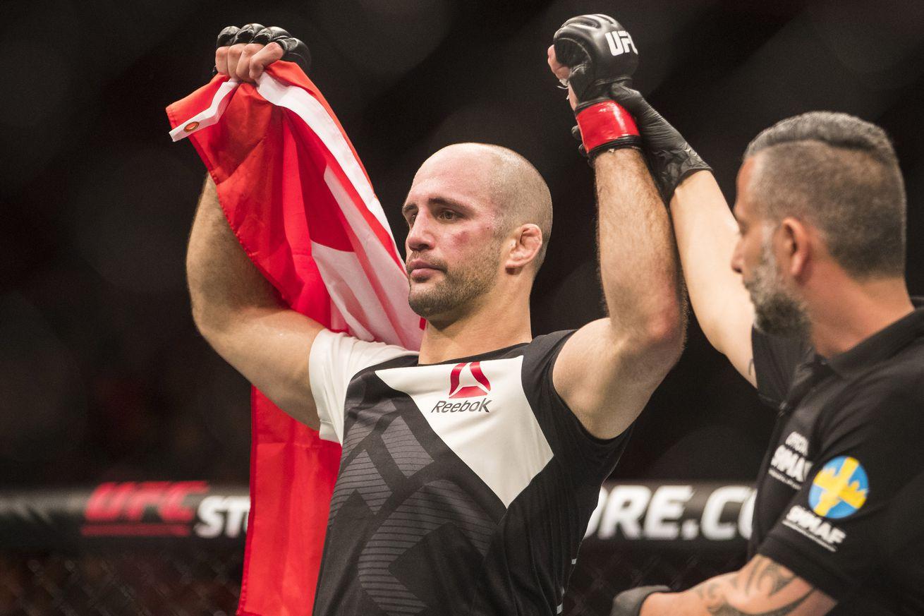Volkan Oezdemir sets sights on Jimi Manuwa after stunning upset at UFC Fight Night 109