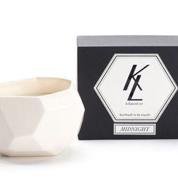 """Kelly Lamb Ever Candle in Midnight, <a href=""""http://shop.tenover6.com/products/ever-candle-midnight"""">$80</a> at TenOverSix"""