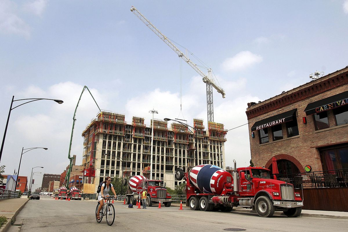 The West Loop neighborhood on the Near West Side is booming with new residents and corporate headquarters.