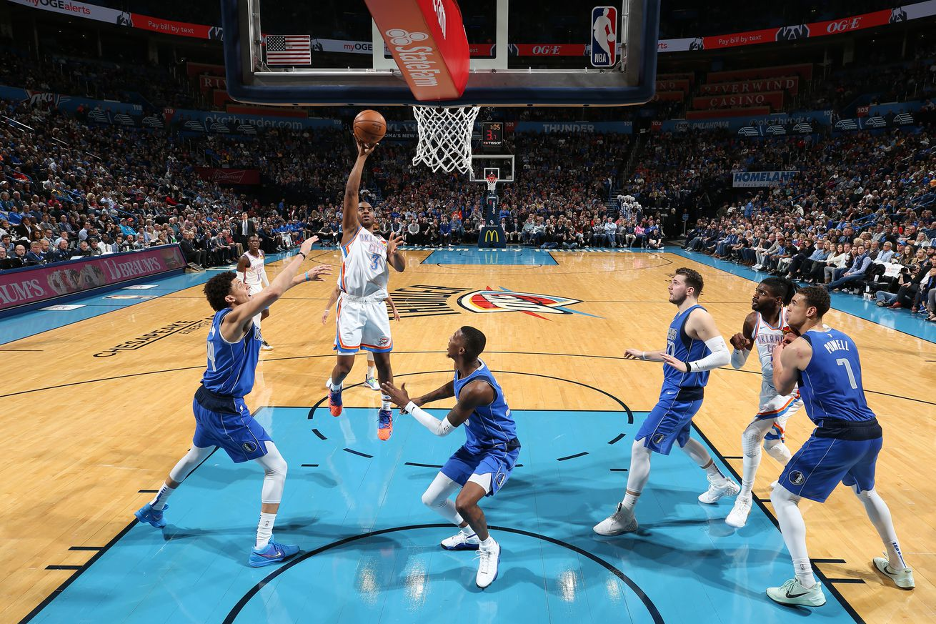 Thunder win another close game against Luka & the Mavs, 106-101