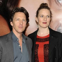 """FILE - This April 18, 2012 file photo shows actor Andrew McCarthy and his wife  Dolores Rice attending the Tribeca Film Festival opening night premiere of """"The Five-Year Engagement"""" at the Ziegfeld Theatre in New York. McCarthy says he has the """"two best jobs in the world,"""" as an actor whose work includes """"St. Elmo's Fire"""" and """"Pretty in Pink"""" and as a travel writer for major magazines. Now he's written a book, """"The Longest Way Home: One Man's Quest for the Courage to Settle Down,"""" in which he describes resolving his conflicts over settling down """"the way I answer all questions in my life, by traveling."""""""