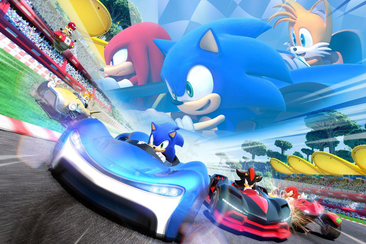 ผลการค้นหารูปภาพสำหรับ Team Sonic Racing