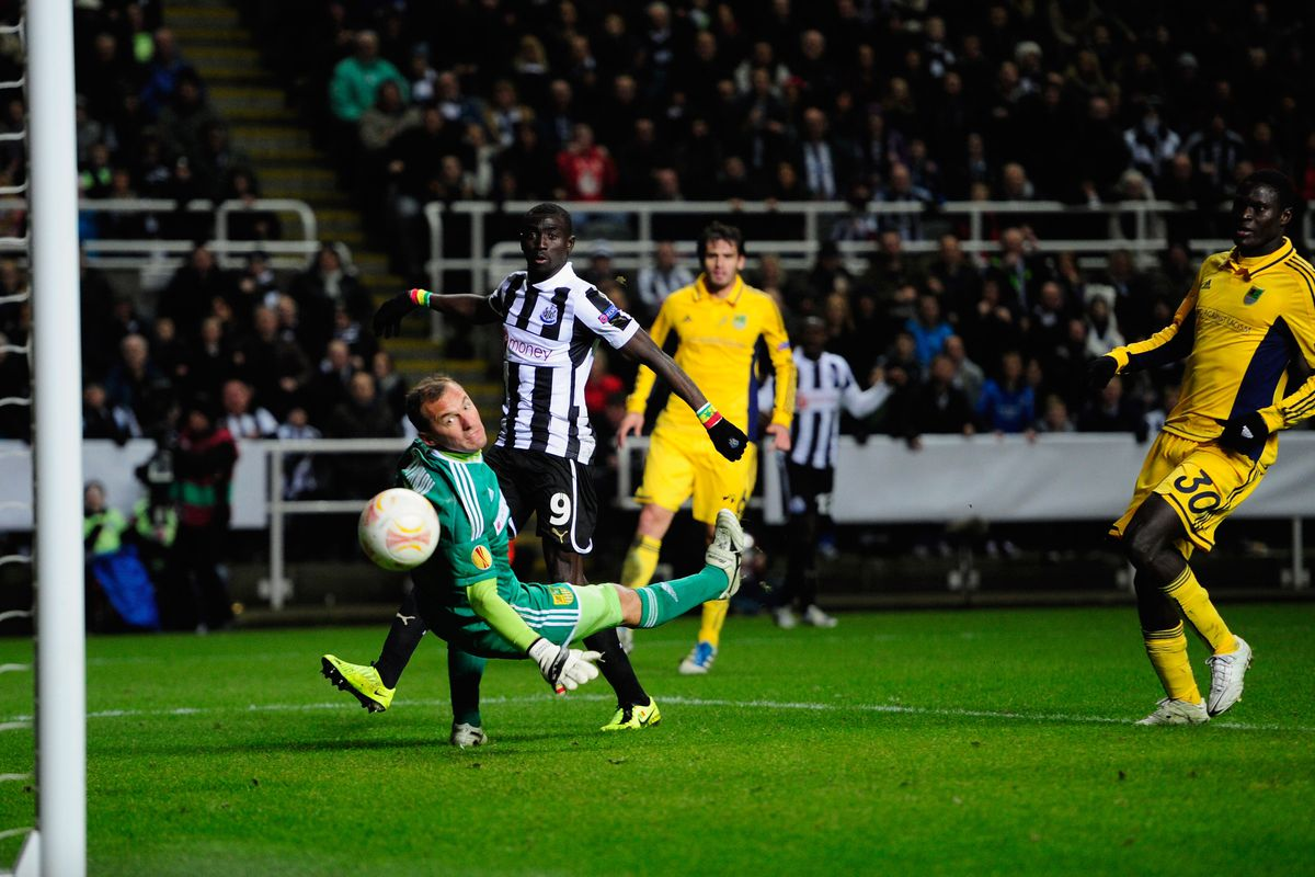 Newcastle feel cheated over two disallowed goals.
