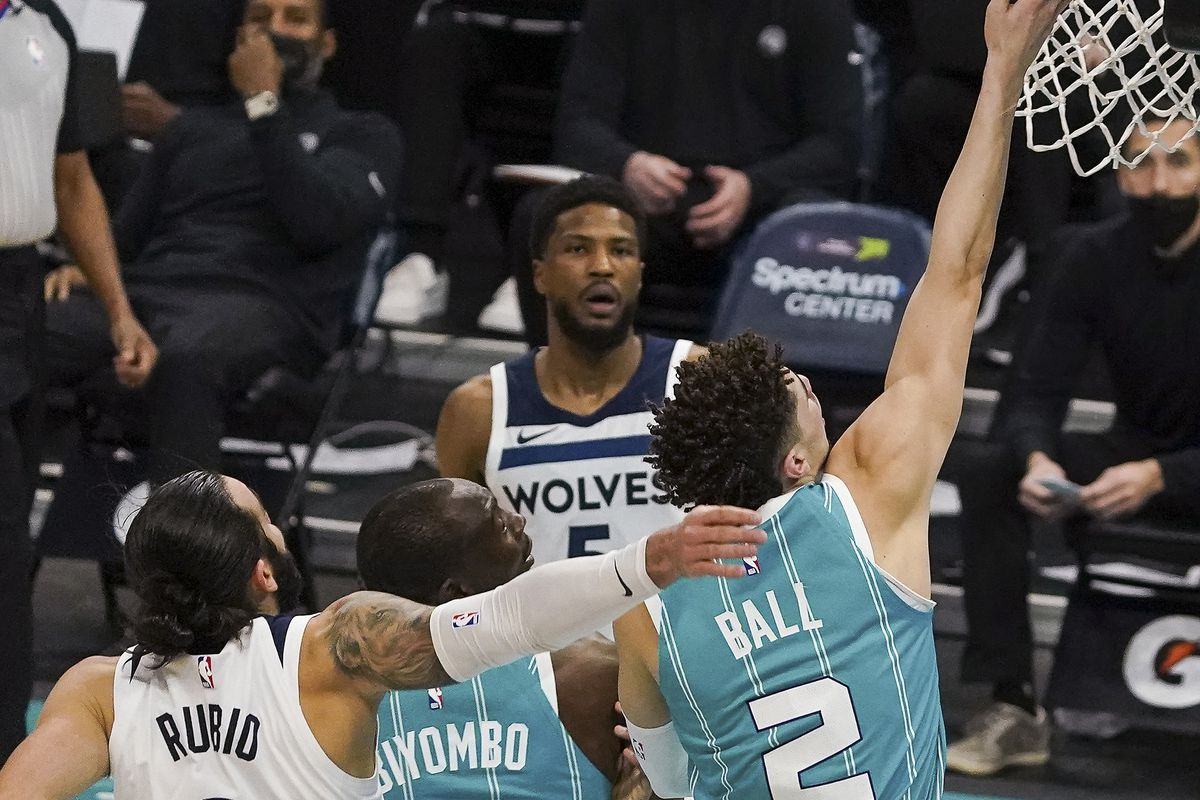 NBA: Minnesota Timberwolves at Charlotte Hornets