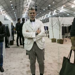 """Nick Wooster, <a href=""""http://www.complex.com/style/2012/12/nick-wooster-jc-penney-interview"""">creative director of menswear</a> at JCPenney."""