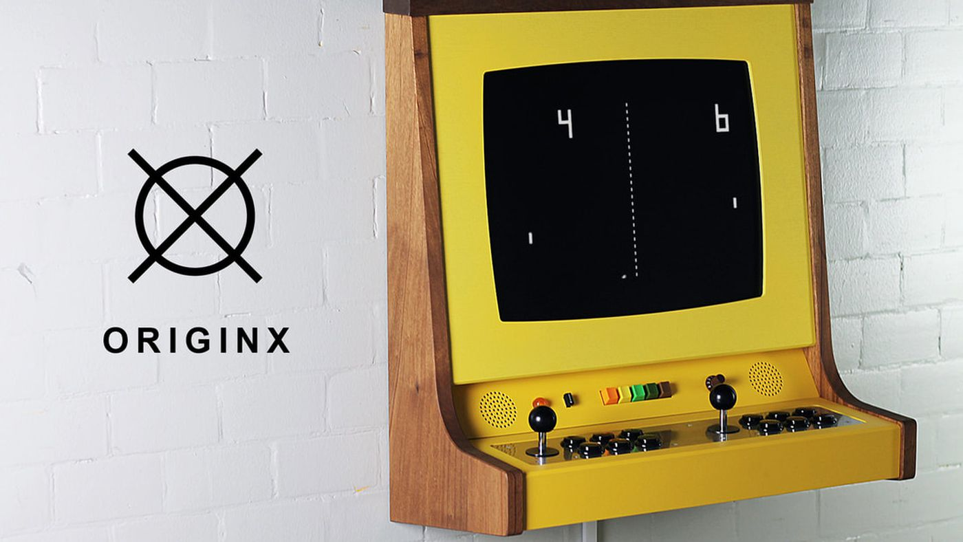 The Originx Is A Beautiful Custom Made Arcade Cabinet For The One