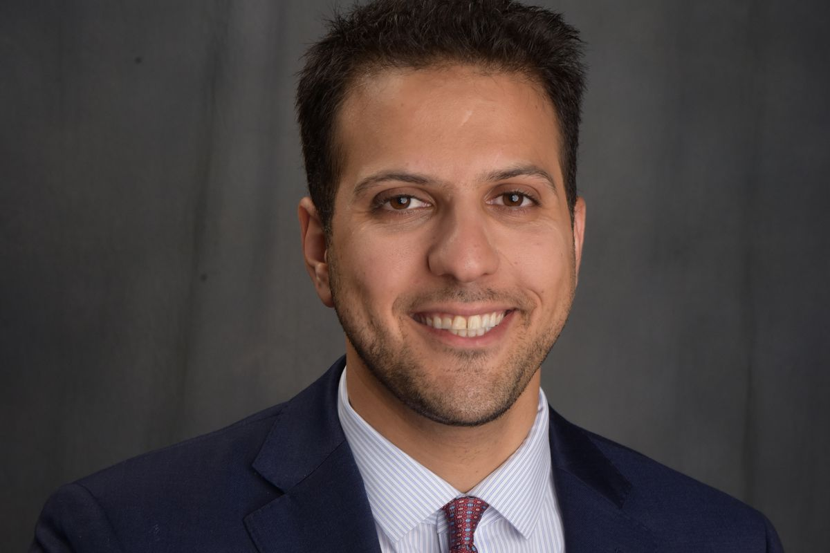 Abdelnasser Rashid, 2020 Cook County Board of Review Democratic primary election candidate.