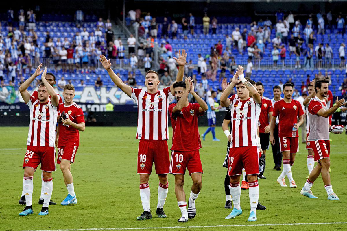 Malaga v UD Almeria - La Liga SmartBank