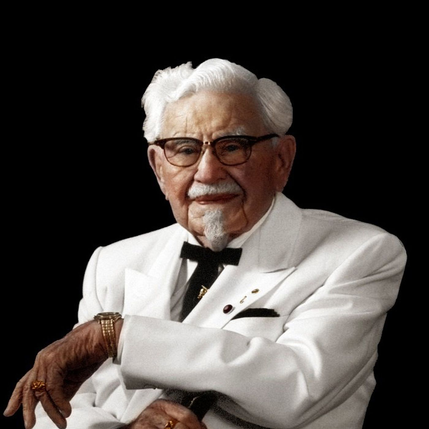 The Real Story Of Colonel Sanders Is Far Crazier Than This Bland