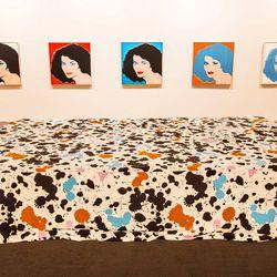 Simply iconic. Diane von Furstenberg by Andy Warhol (1984).