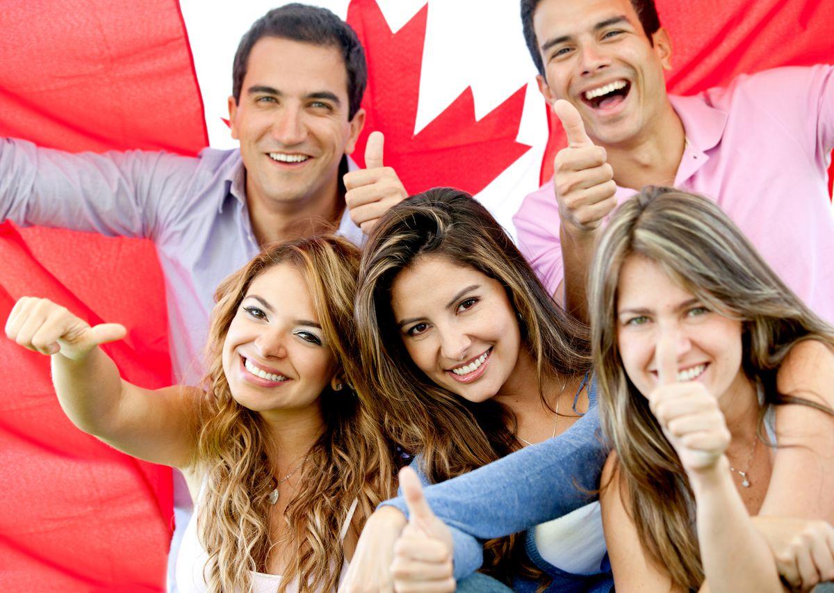 happy canada canadians