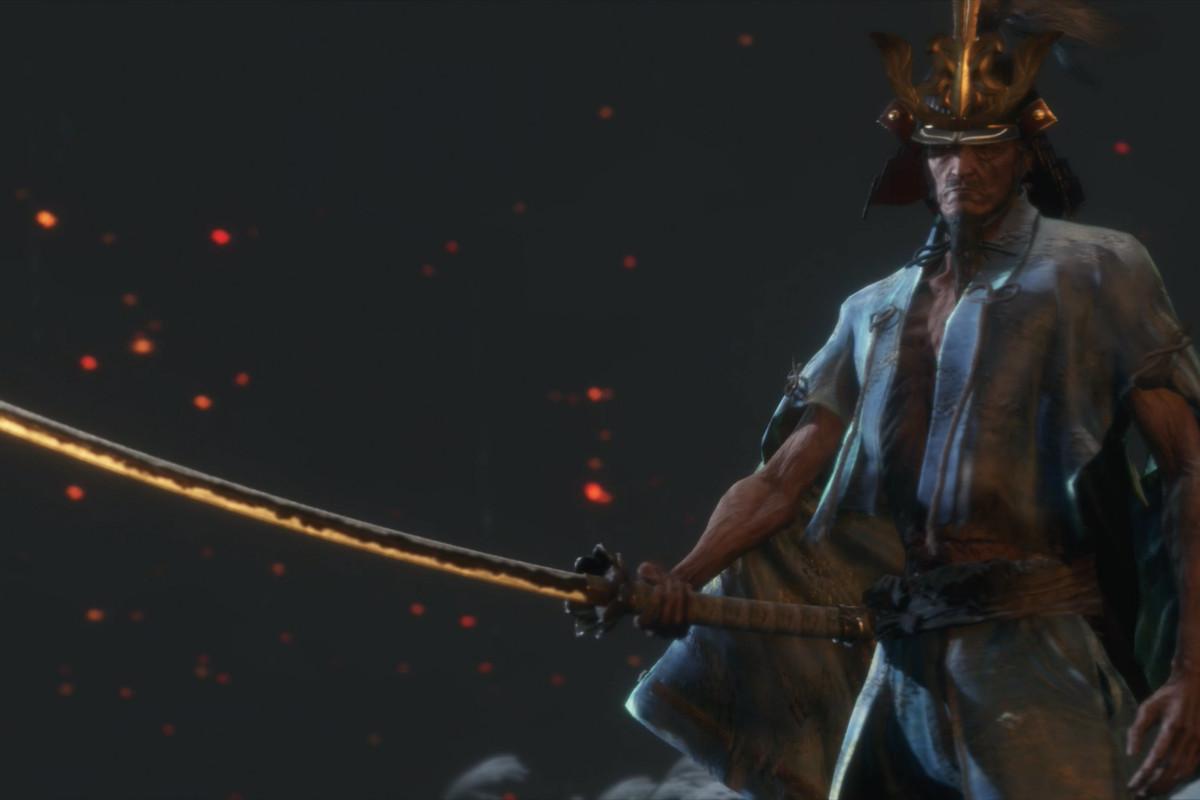 Isshin, the Sword Saint (Sekiro) Minecraft Skin