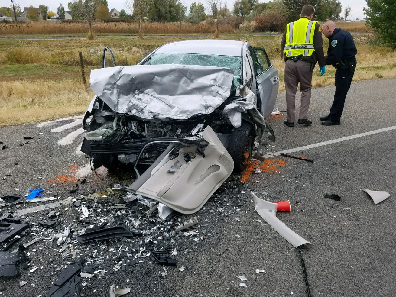 Two killed in head-on crash on Legacy Highway identified
