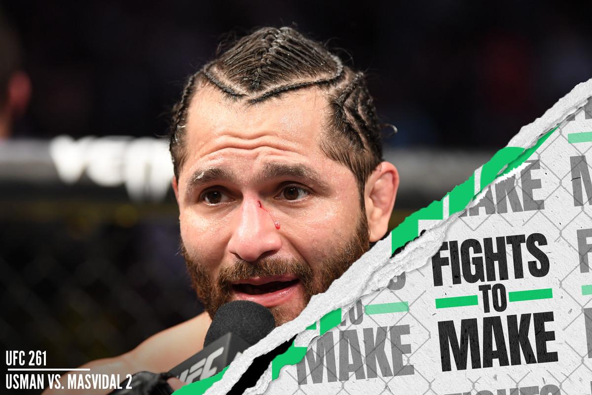 UFC 261: Kamaru Usman vs. Jorge Masvidal 2