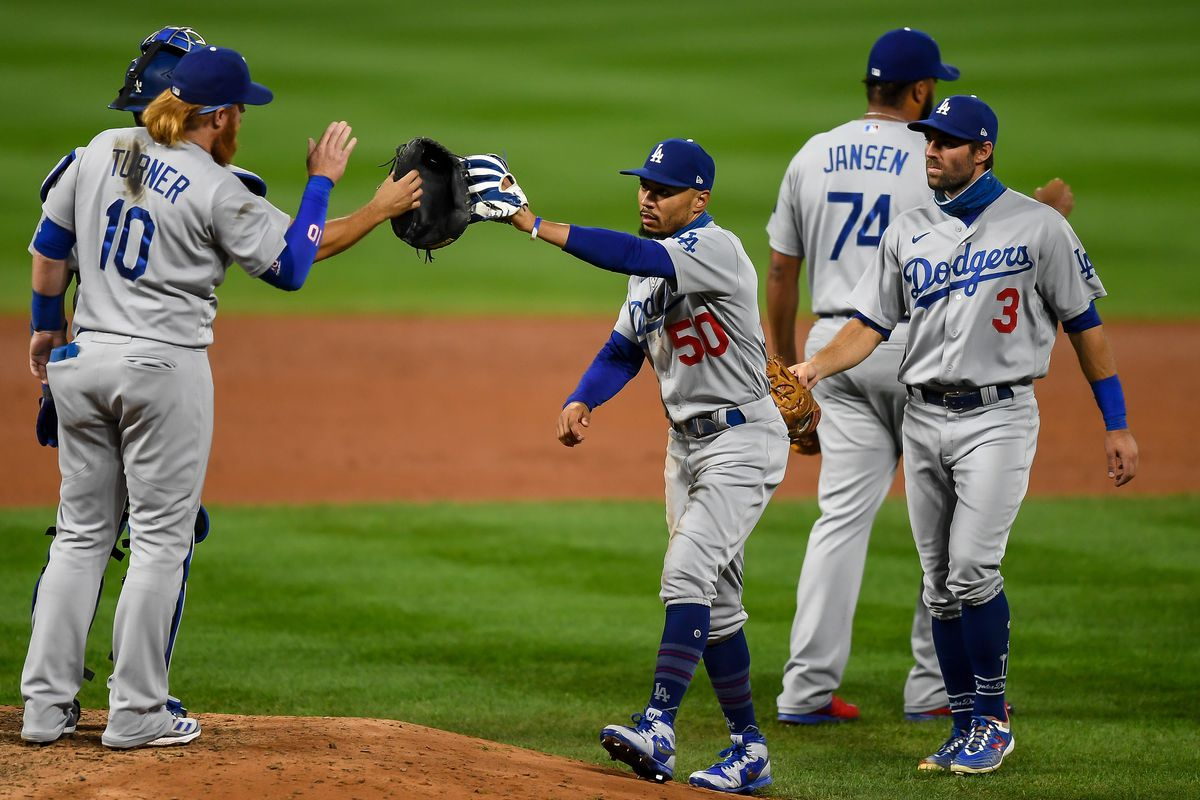 MLB: SEP 19 Dodgers at Rockies