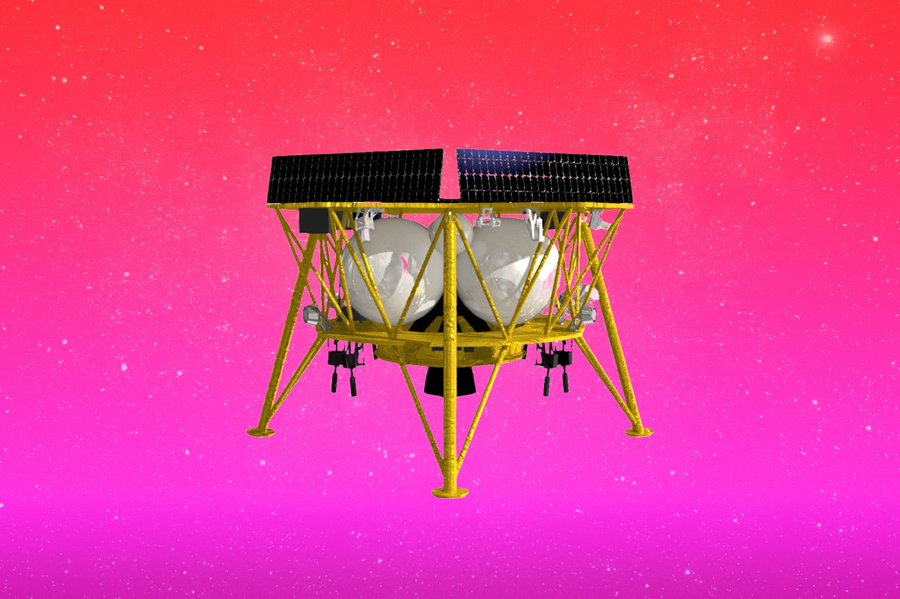 <em>An artistic rendering of Firefly's Genesis lander</em>