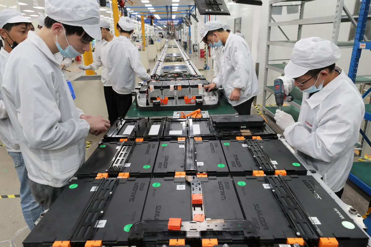 CHINA-ECONOMY-lithium-battery