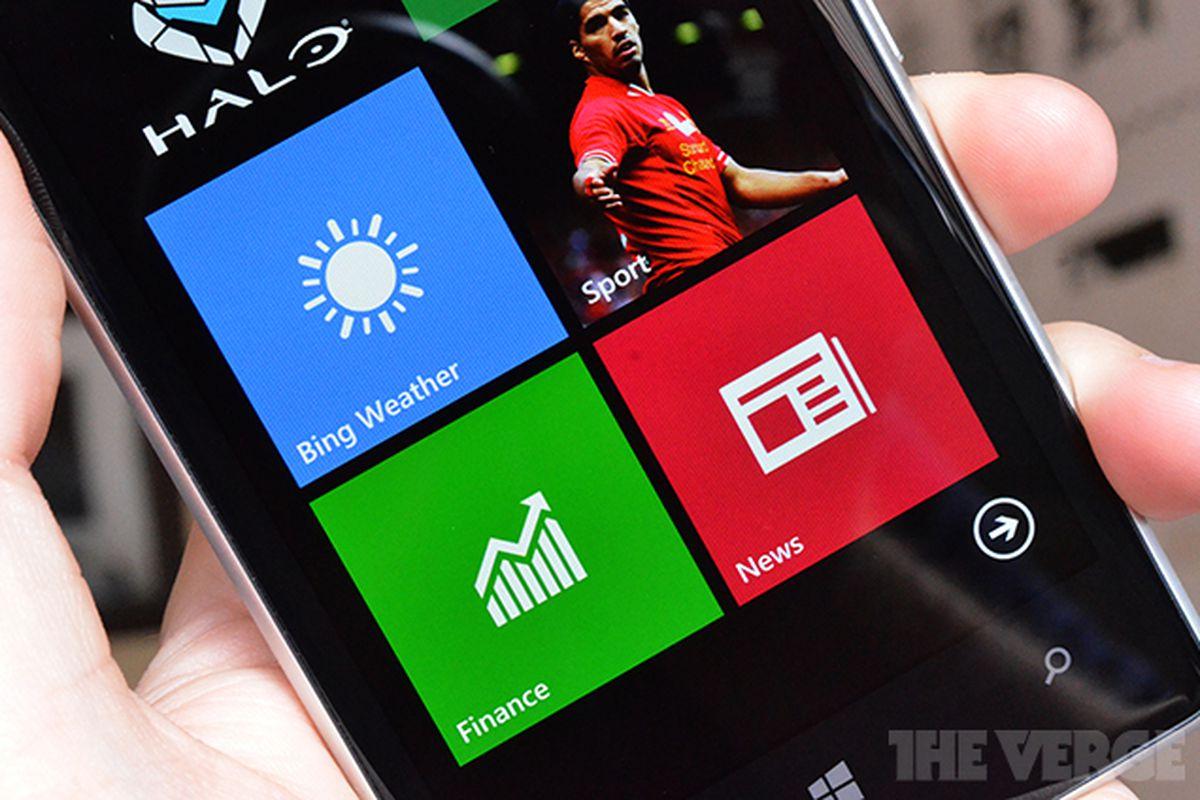 Bing WP8 apps